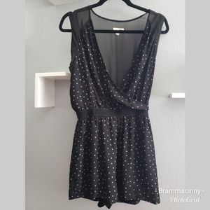Urban Outfitters Silent + Noise Black Romper